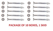 Muro-Specialty Screws- RSM665BFL- For FDVL Package of 10