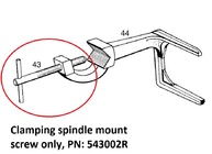 REMS - Amigo Clamping spindle mount screw, 543002
