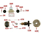 Aurand - Spare, replacement, repair parts for electric and pneumatic