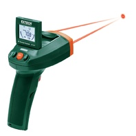 Extech - IRT500 Dual Laser IR Thermal Scanner with Adjustable Display